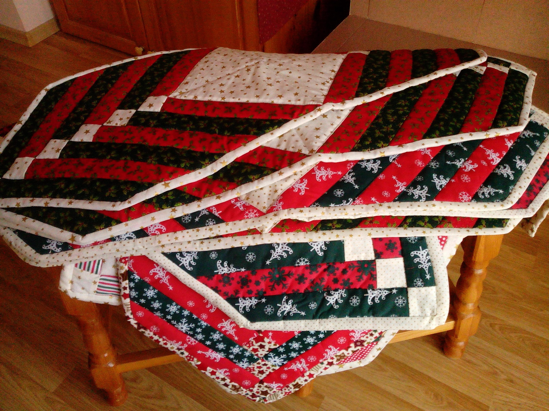 TABLE RUNNERS £12.50 each
